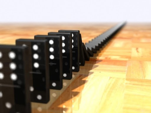 The domino effect essay