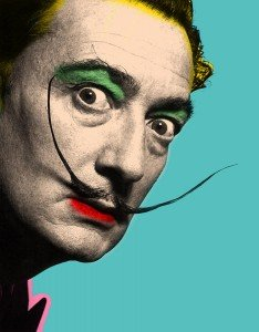 The two artists whose work i will be comparing are Salvador Dali and ...